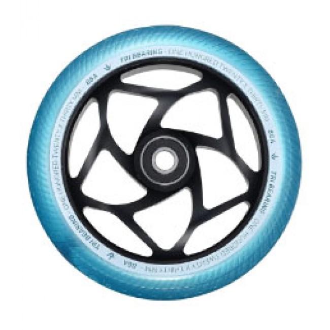 Blunt Tri Bearing Scoter Wheel Black/Teal 120mm x 30mm