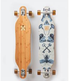 Arbor Bamboo Axis Cruiser Skateboard Multi 40""