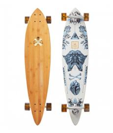 Arbor Bamboo Fish Cruiser Skateboard Multi 37""
