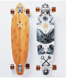 "Arbor Bamboo Mindstate Cruiser Skateboard Multi 37"""