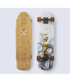 """Arbor Bamboo Pilsner Cruiser Skateboard White 28.27"""""""