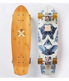 "Arbor Bamboo Pocket Rocket Cruiser Skateboard 27"""