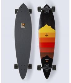 "Arbor Artist Draplin Fish Cruiser Skateboard 37"""