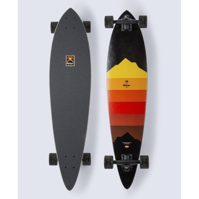 Arbor Artist Fish Cruiser Skateboard 37