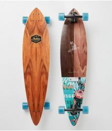 Arbor Groundswell Fish Cruiser Skateboard 37""