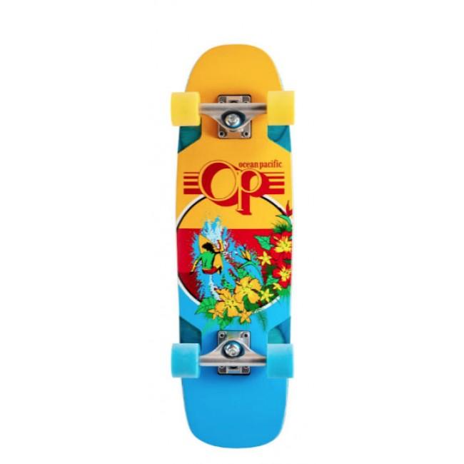 "Ocean Pacific Makai Cruiser Skateboard 29"" Orange"