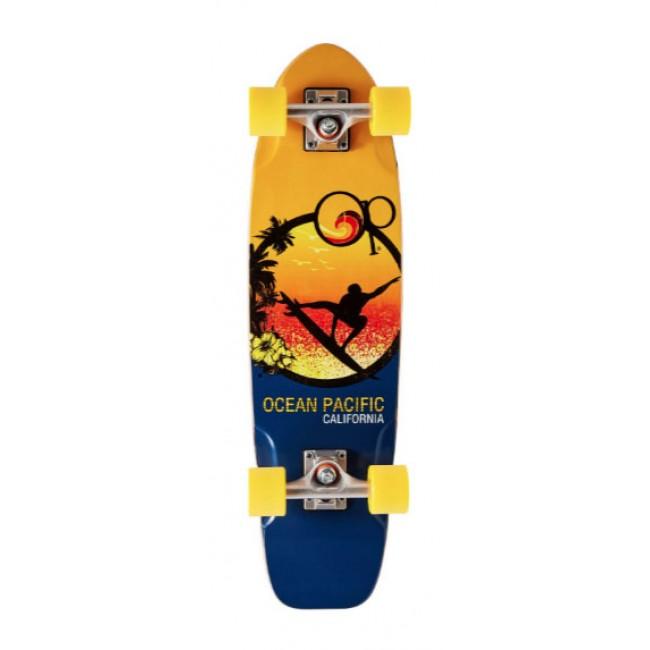 Ocean Pacific Surfer Cruiser Skateboard 28.5