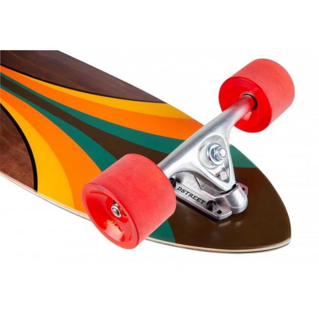 D Street Malibu Pintail Complete Longboard 40