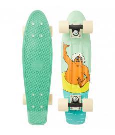 "Penny Chuck Shaka Complete Skateboard 22"" Multi"