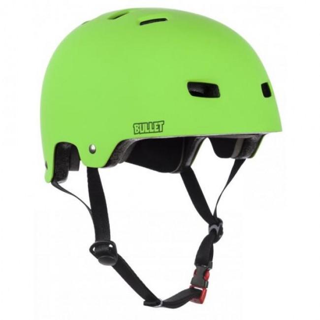 Bullet Deluxe Kids Helmet XS/S Youth Green