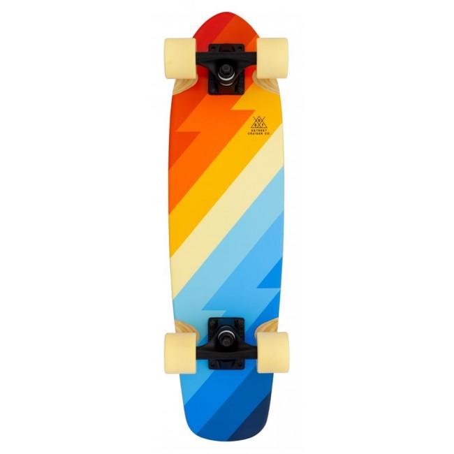 D Street Atlas Cruiser Skateboard Black 26