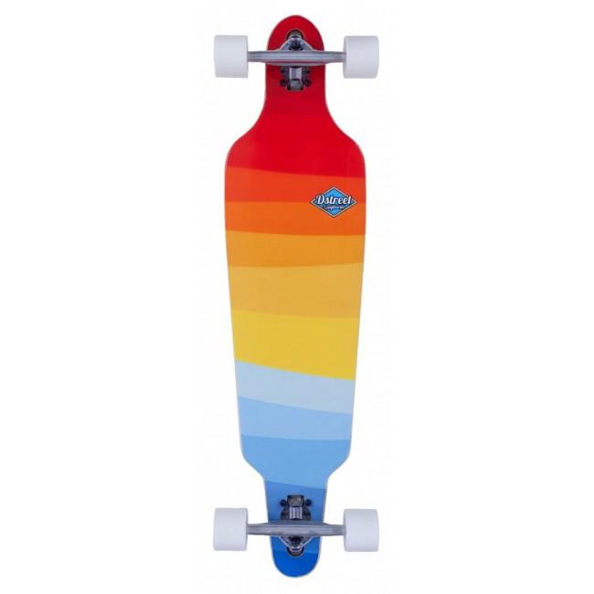 D Street Drop Down Through Horizon Crusier Skateboard 37