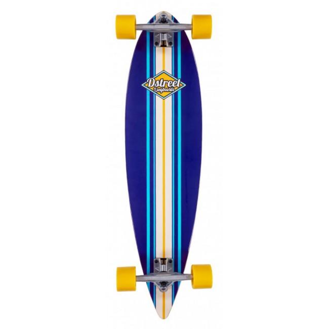 D Street Pintail Ocean Blue Cruiser Skateboard 35