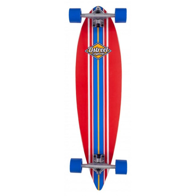D Street Pintail Ocean Red Cruiser Skateboard 35