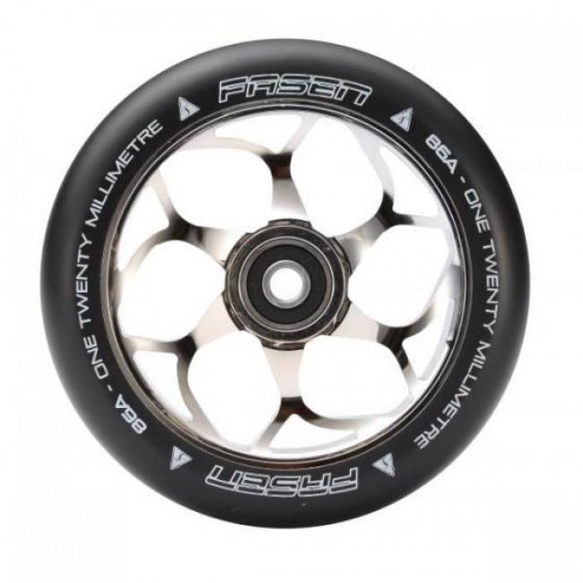 Fasen 120mm Scooter Wheel Chrome