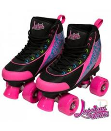 Luscious Retro Quad Skates Disco Diva