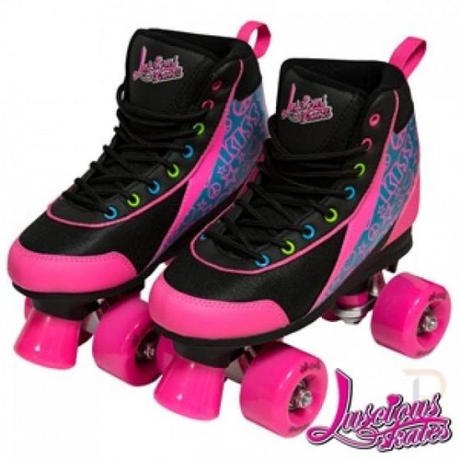 Luscious Retro Quad Skates Disco Diva