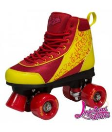 Luscious Retro Quad Skates Ruby Reds