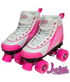 Luscious Retro Quad Skates Strawberry Kiss