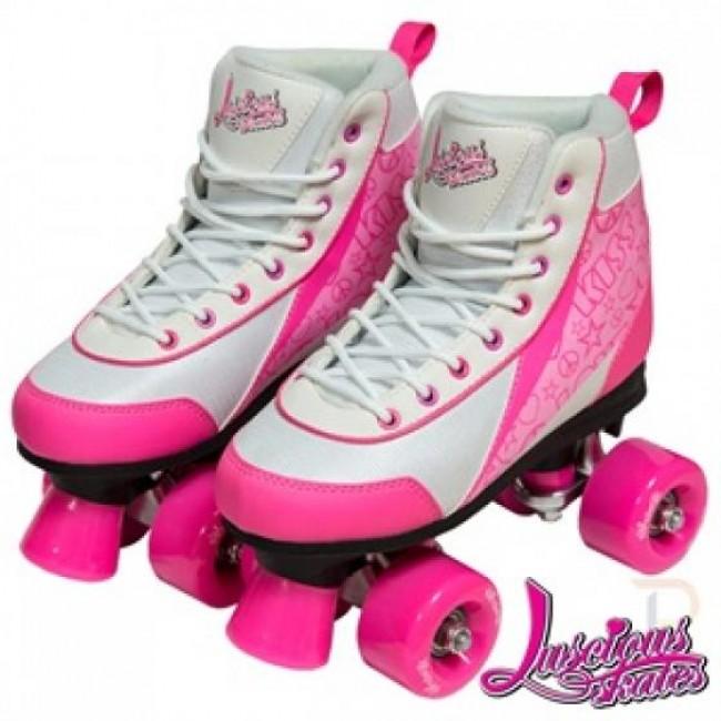 Luscious Retro Quad Skates Strawberry Kiss