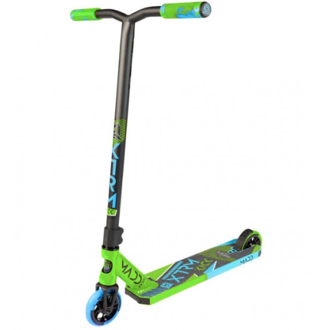 Madd Gear Kick Extreme V5 Stunt Scooter Lime/Blue