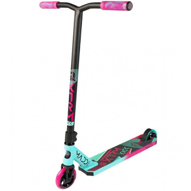 Madd Gear Kick Extreme V5 Stunt Scooter Teal/Pink