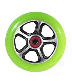 MGP DDAM CFA Scooter Wheels Black/Green 110mm