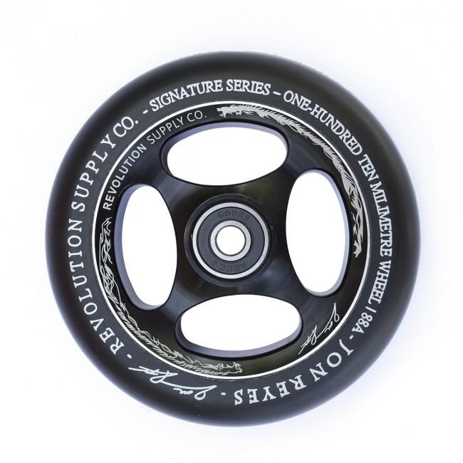 Revolution Jon Reyes Sig Wheel Black 110mm