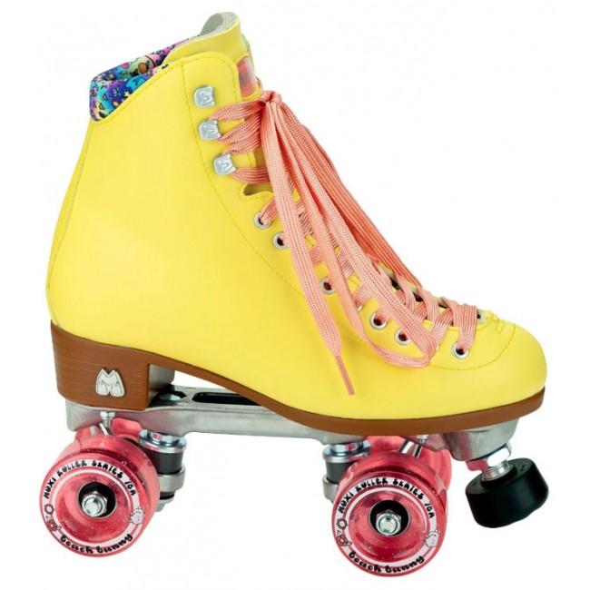 Moxi Beach Bunny Quad Roller Skates Strawberry Lemonade
