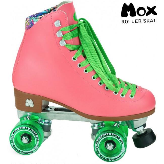 Moxi Beach Bunny Quad Roller Skates Watermelon
