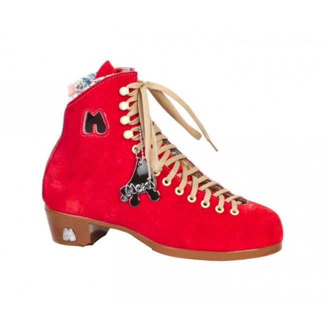 Moxi Lolly Poppy Red Skate Boots