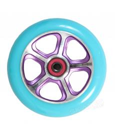 MGP DDAM CFA Scooter Wheels Purple/Turquoise 110mm