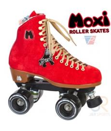 Moxi Lolly - Poppy Red Quad Roller Skates