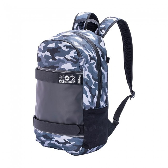 187 Killer Pads Standard Issue Back Pack Charcoal Camo