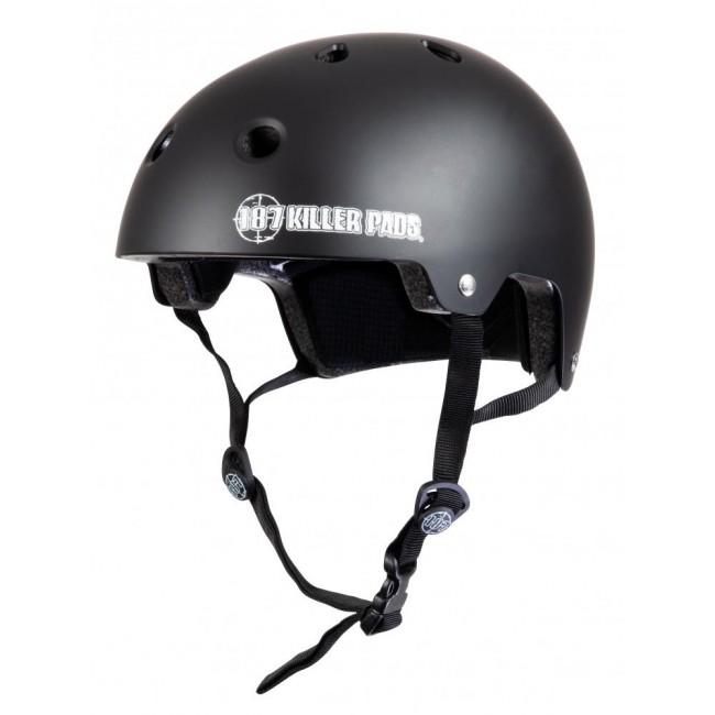 187 Killer Certified Helmet Matt Black