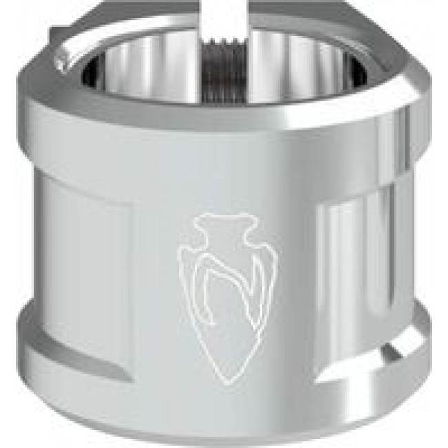 North Axe V2 Scooter Clamp Silver
