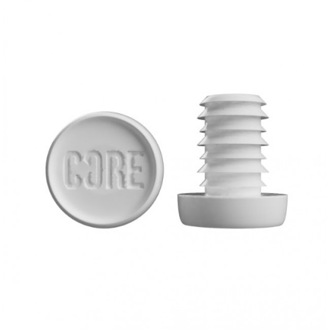 Core Scooter Bar Ends White