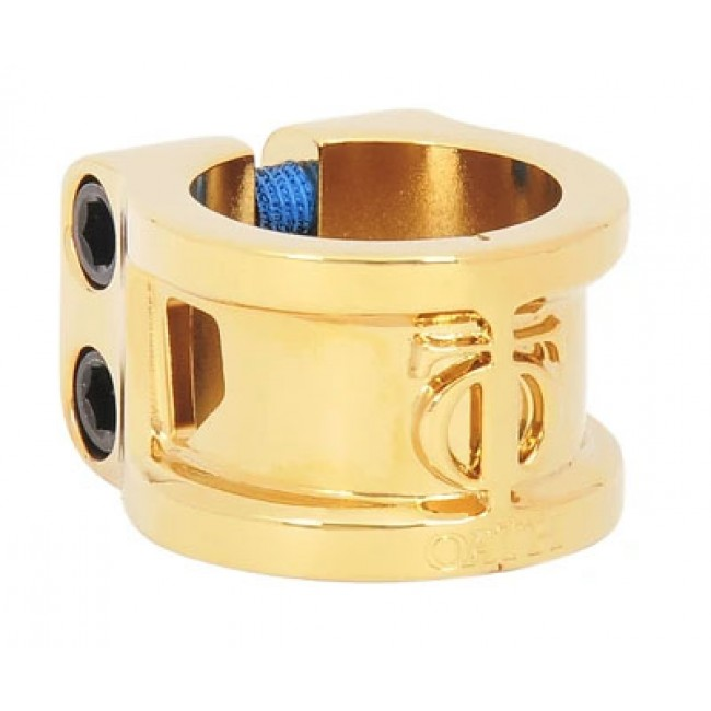 Oath Cage Double Clamp Neo Gold