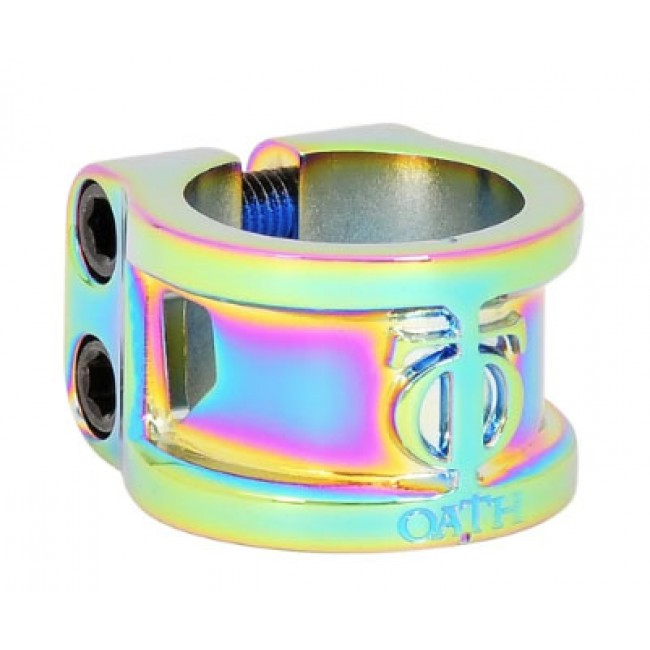 Oath Cage Double Clamp Neo Chrome