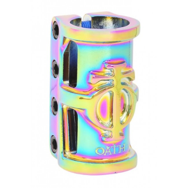 Oath Cage SCS Scooter Clamp Neo Chrome