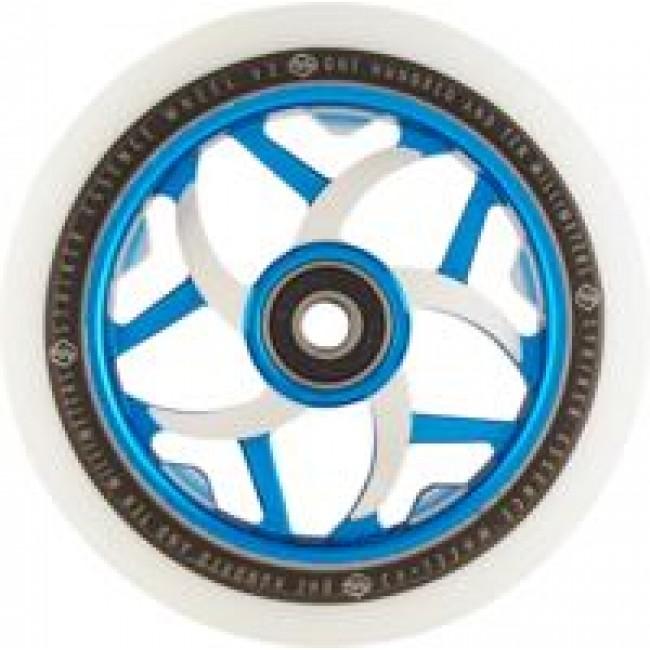 Striker Essence V3 Scooter Wheel White/Blue 110mm