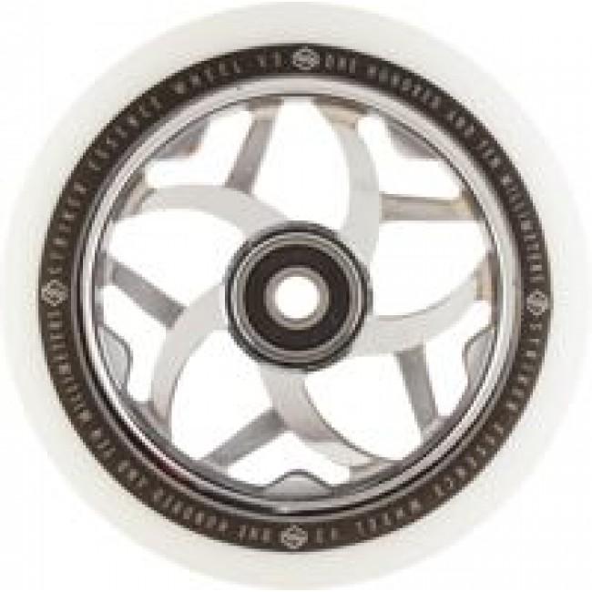 Striker Essence V3 Scooter Wheel White/Chrome 110mm