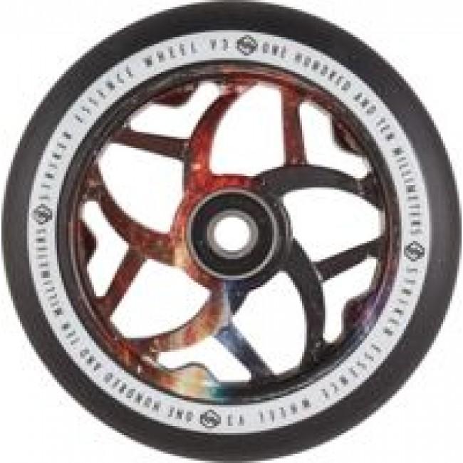 Striker Essence V3 Scooter Wheel Black Yellow/Galaxy110mm
