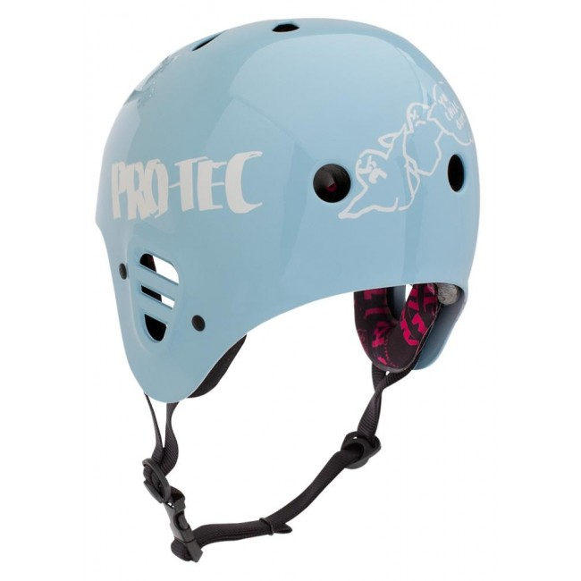 ProTec Full Cut Light Blue Large Adults