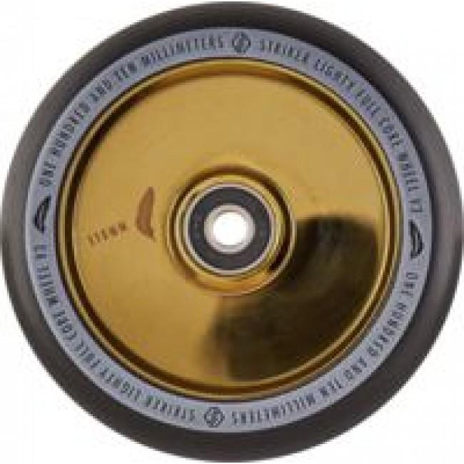 Striker Lighty Full Core V3 Scooter Wheel Black/Gold 110mm