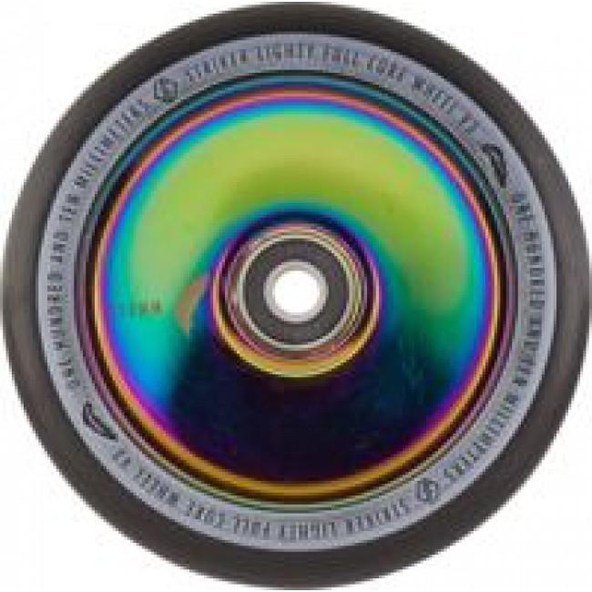 Striker Lighty Full Core V3 Scooter Wheel Black/Rainbow 110mm