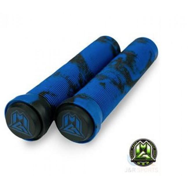 MGP Swirl Grind Grips 150mm Black/Blue