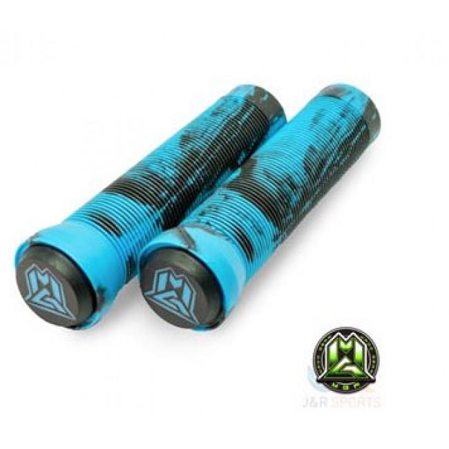 MGP Swirl Grind Grips 150mm Blue/Black