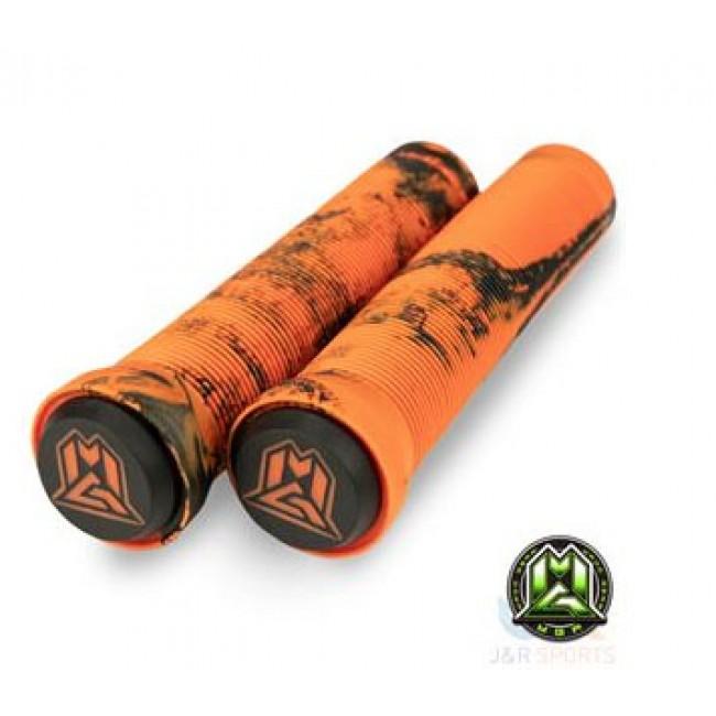 MGP Swirl Grind Grips 150mm Orange/Black