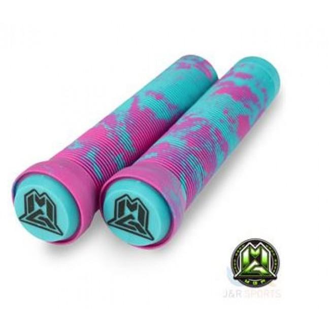 MGP Swirl Grind Grips 150mm Pink/Teal